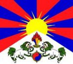 global action Tibetan flag